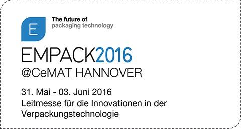 Sperrer Industrieverpackungen bei der EMPACK2016@CeMAT HANNOVER